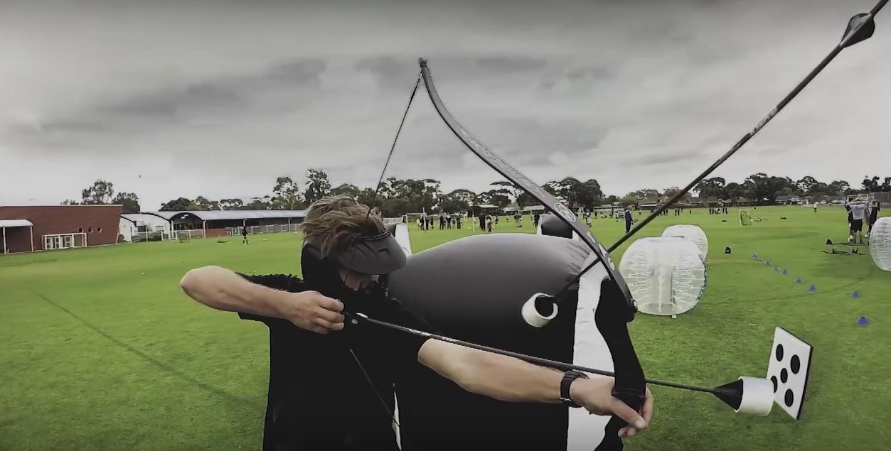 Combat Archery inomhus